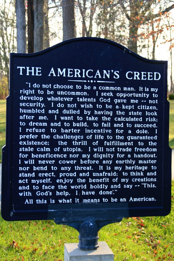 Americans Creed