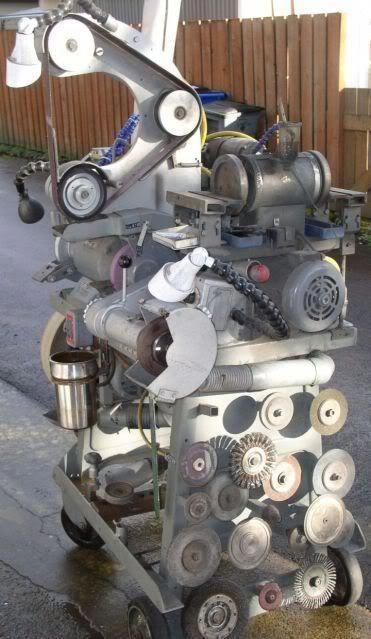 grinder station
